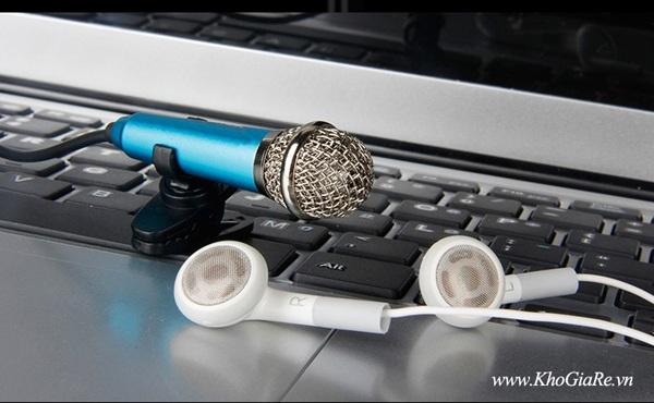 Micro Mini hát karaoke cho smartphone