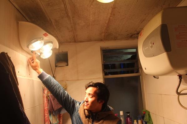cách lắp đèn sưởi nhà tắm