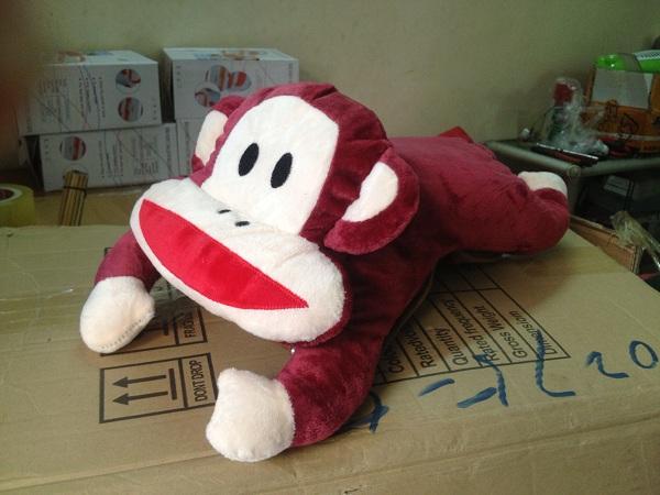 túi sưởi hình khỉ