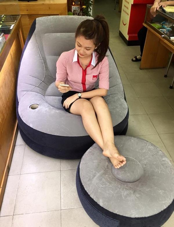 ghế hơi intex hn