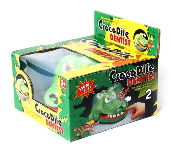 trò chơi tết khám răng cá sấu