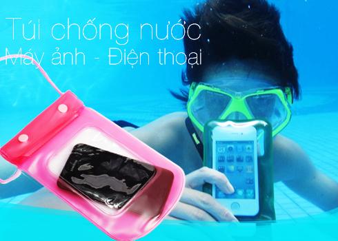 Nhớ mua Túi chống nước cho điện thoại để tha hồ chụp ảnh điện thoại dưới nước nhé