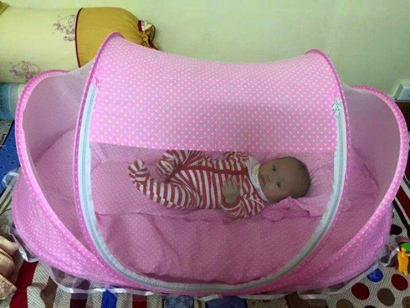 màn chụp cho bé chống muỗi