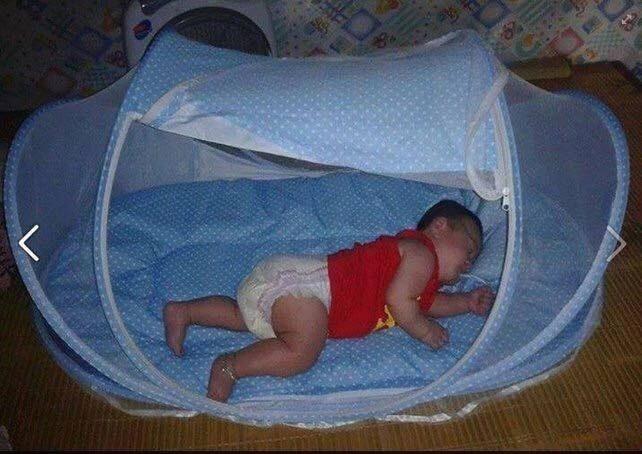 màn ngủ cho bé