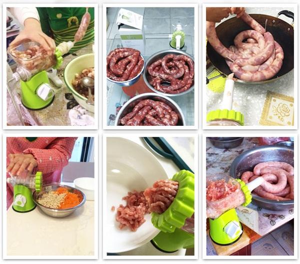 máy xay thịt cầm tay