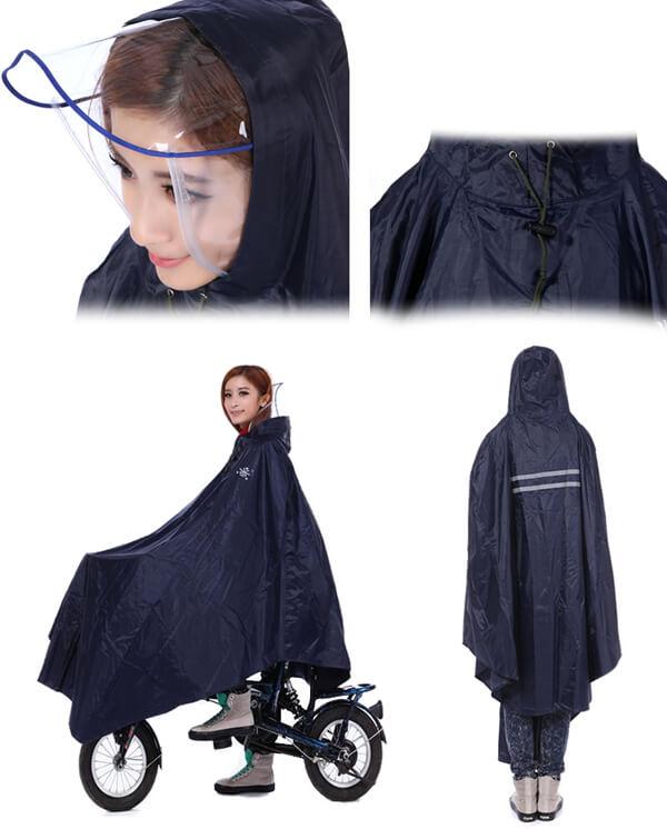 Áo mưa cao cấp có kính chắn mưa giá rẻ