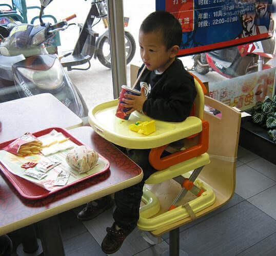 ghế ăn dặm ab cho trẻ