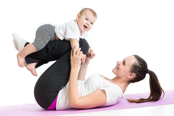 5 bài tập giảm cân sau sinh