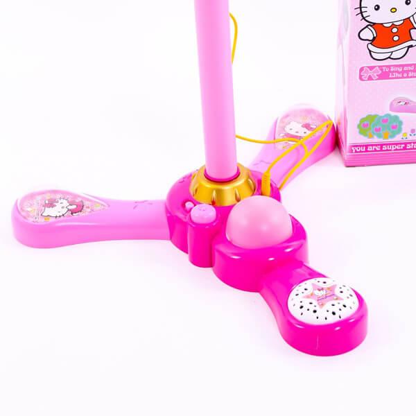 đồ chơi micro hát karaoke cho bé hello kitty