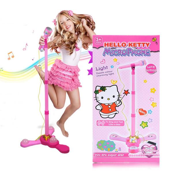 micro hát karaoke cho bé hello kitty