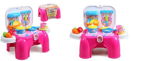Bộ trò chơi nấu ăn sắc màu dành cho bé