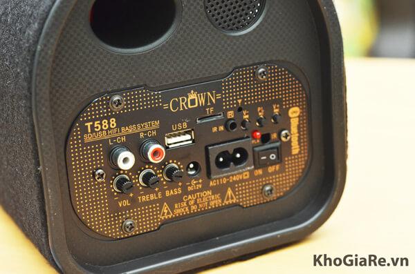 Loa Crown cho máy tính