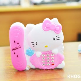 Bộ đàn và điện thoại Hello Kitty cho bé hn