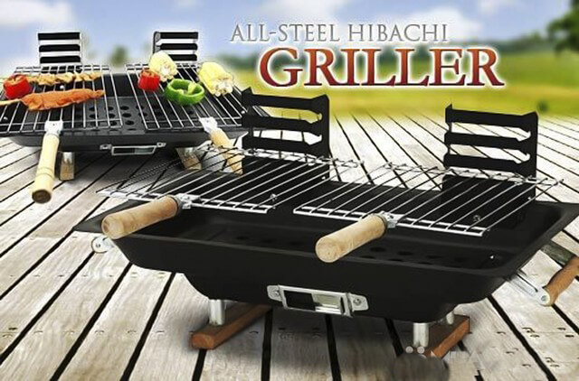 Bếp nướng than hoa All Steel Hibachi