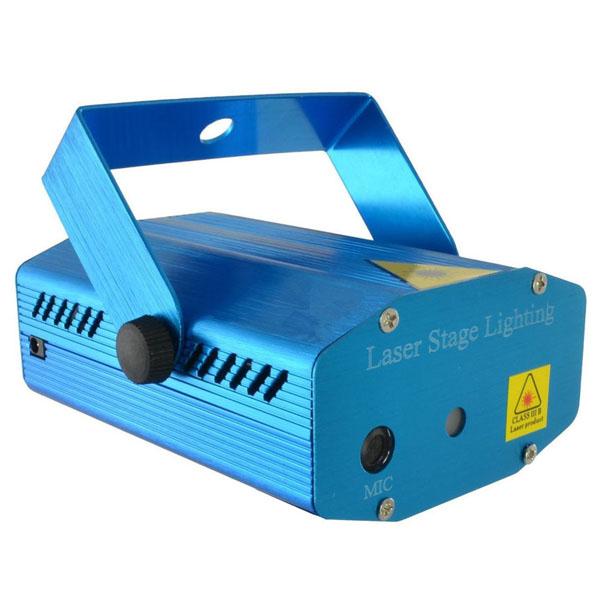 Đèn Laser Trang Trí Stage Laser Light Cảm Biến Nhạc