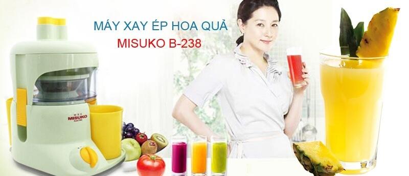 máy ép trái cây Misuko Nhật Bản