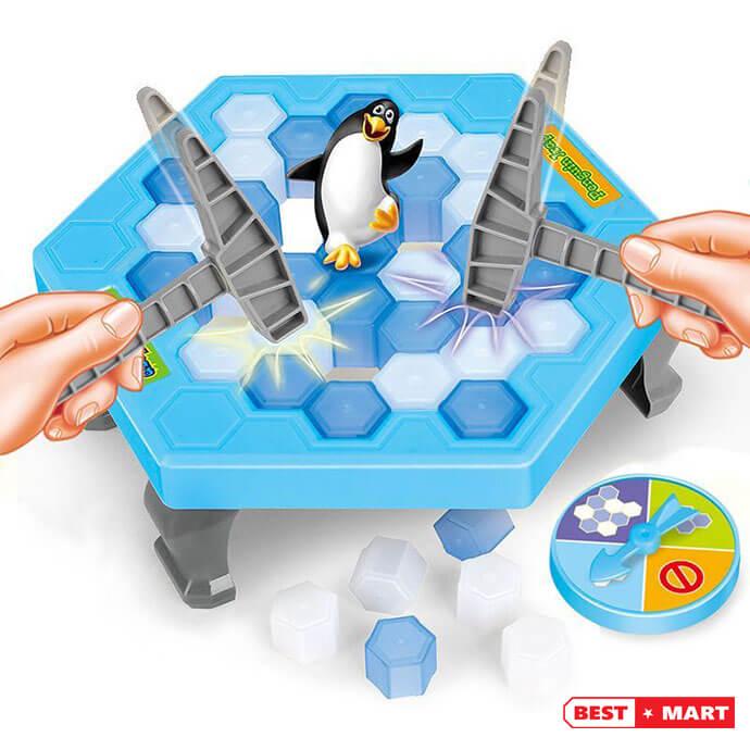 Trò chơi phá băng chim cánh cụt