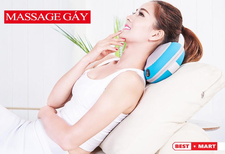 gối massage đa năng