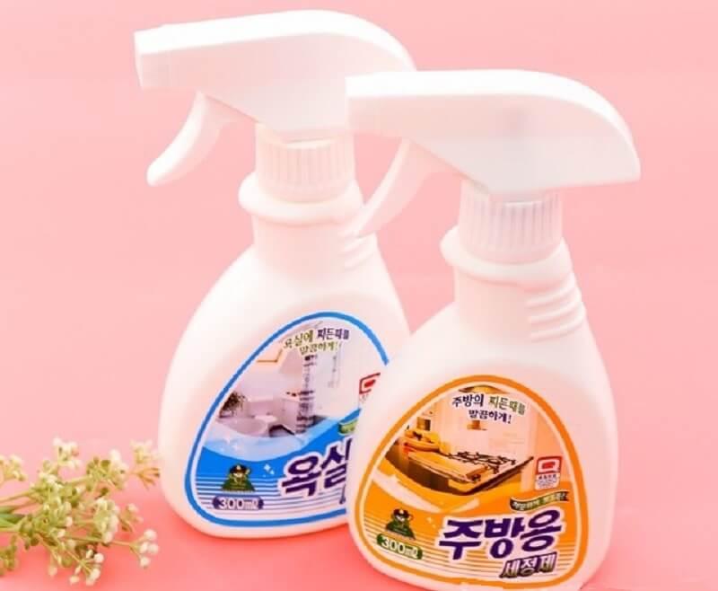 xịt tẩy rửa đa năng hàn quốc giá rẻ