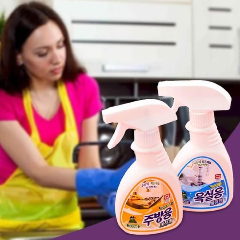 chai xịt tẩy rửa nhà bếp giá rẻ