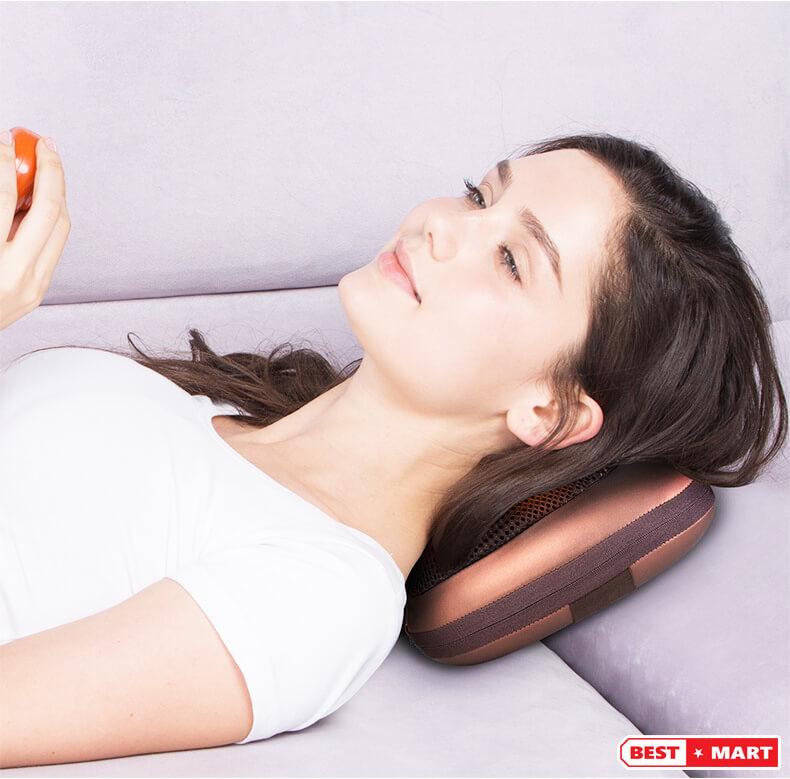 Gối massage cổ akita