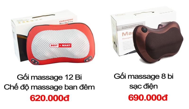 gối massage hồng ngoại hàn quốc có tốt không