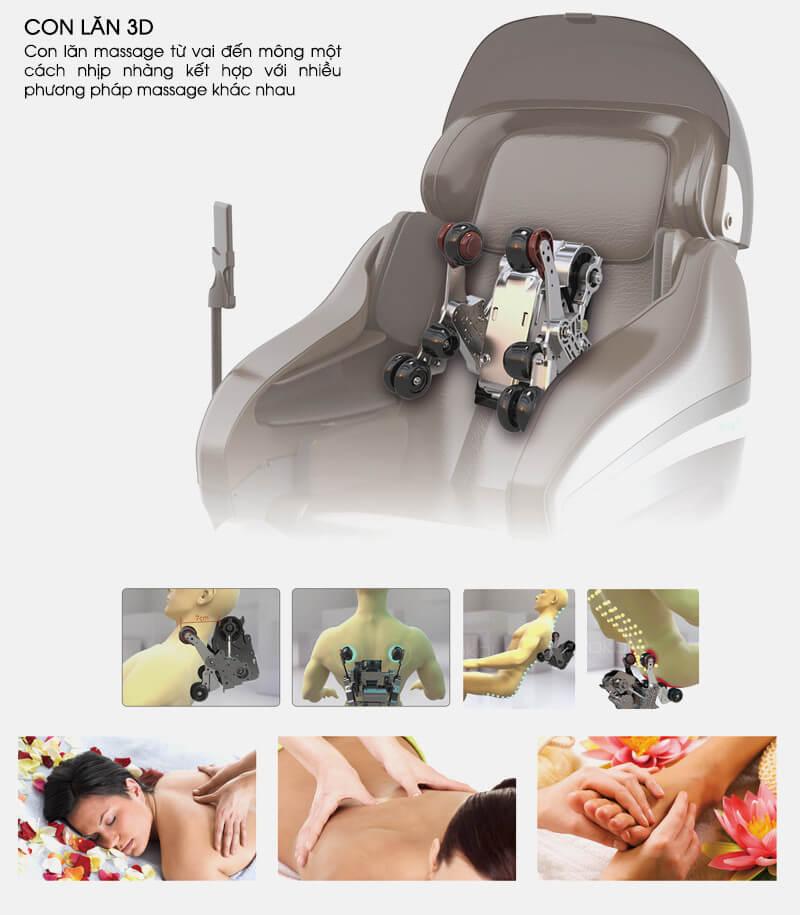 Ghế Massage Kingsport G8