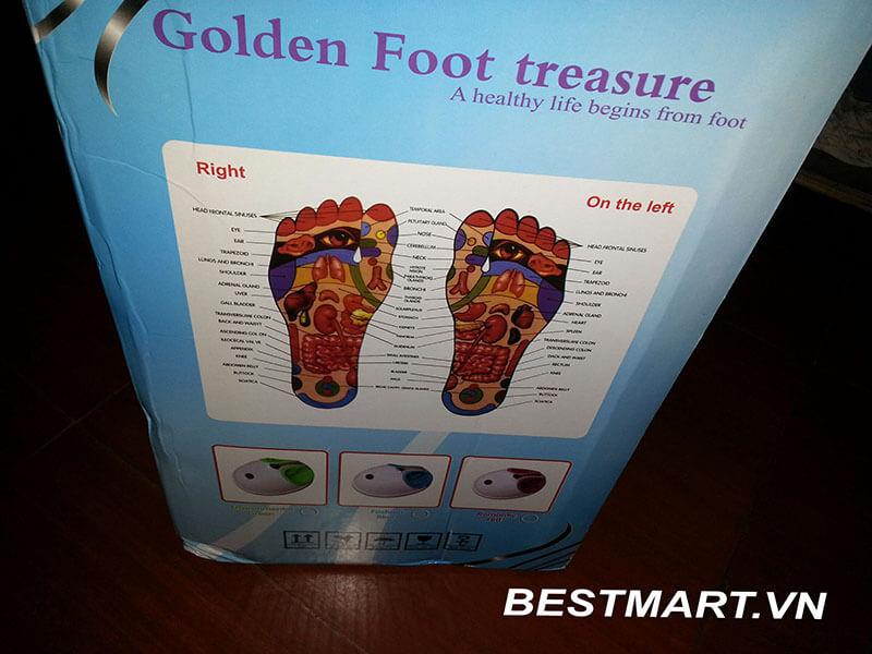 máy massage chân Golden