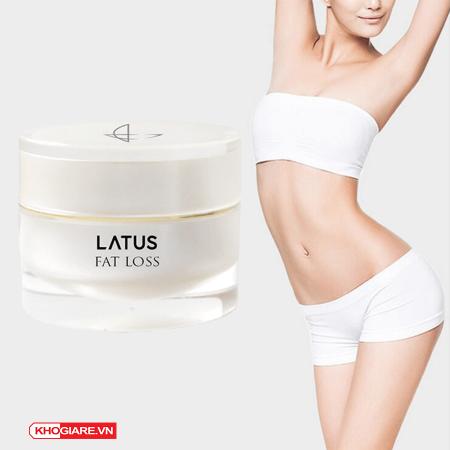 Kem tan mỡ thảo dược Latus Fat Cream